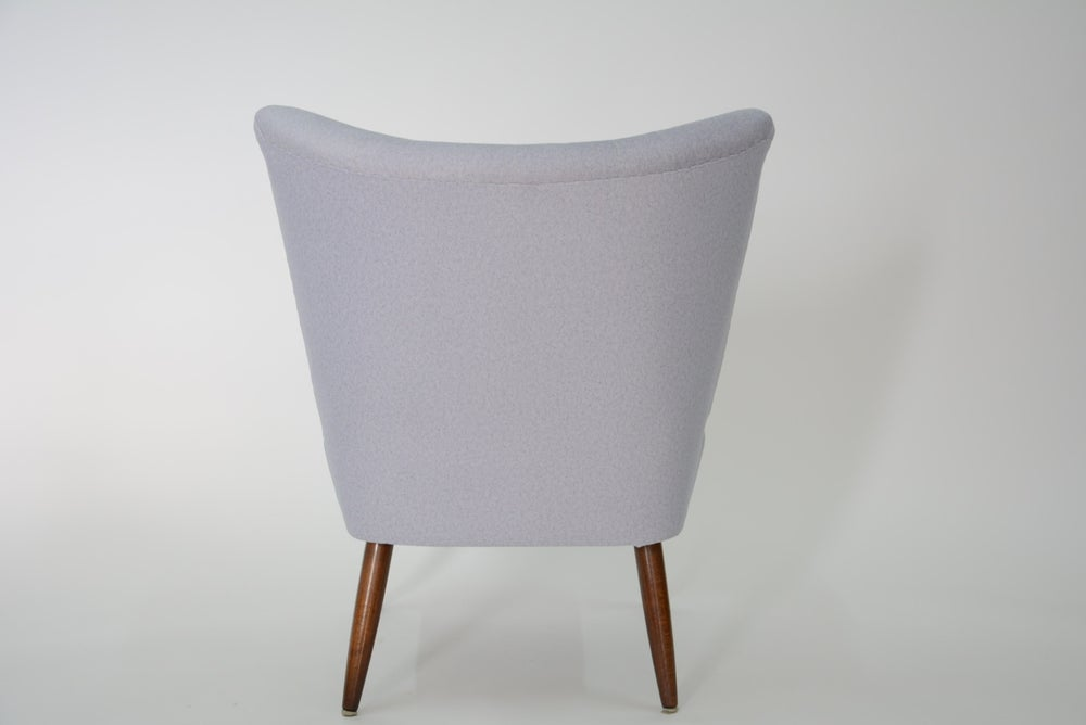 Image of Fauteuil Cocktail Gris Clair