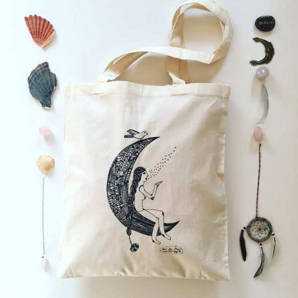 Image of Tote Bag *Woman Moon*
