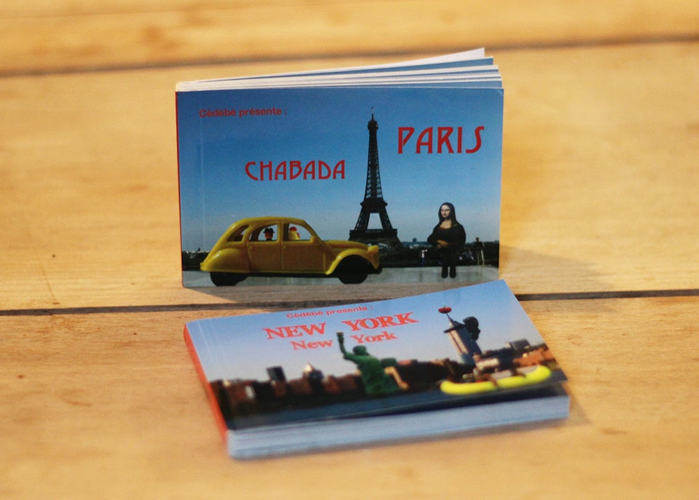 Image of Flip-book Chabada Paris