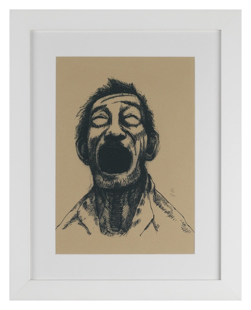 Laughing Limeted Edition Screen Print