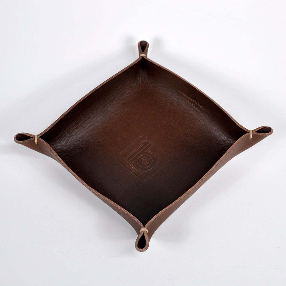Image of Leather Valet Tray