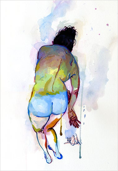 Image of Figure Painting 5