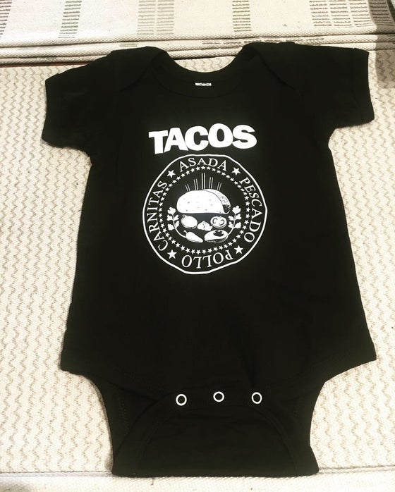 Image of Cotton Taco Onesie