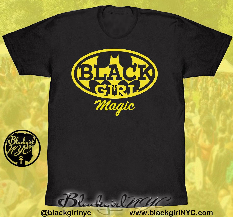 Image of BLACK GIRL (Batgirl) MAGIC / Black tee