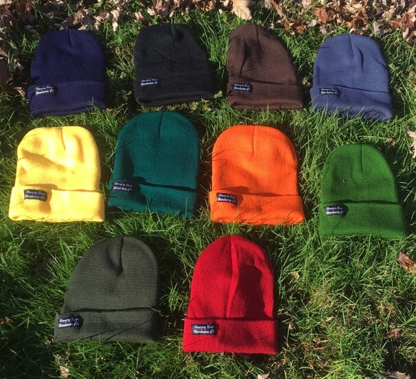 Image of Hungry Bear script beanie