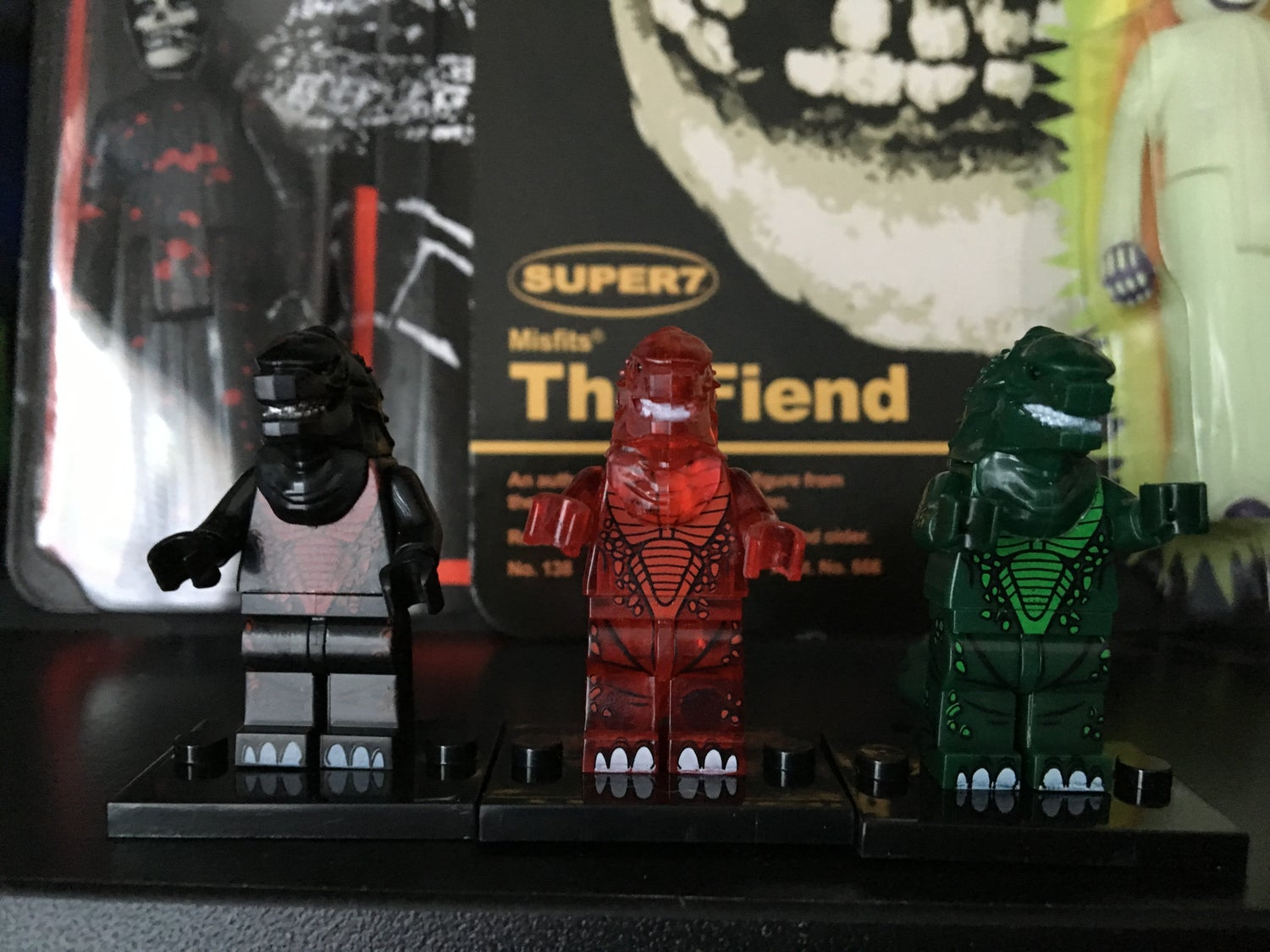 Image of Horror Block Figures