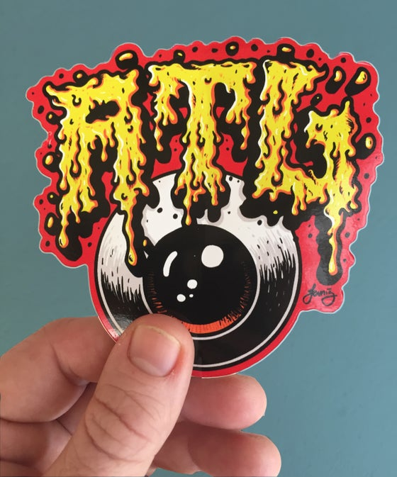"Image of ""MELTY ATL"" Sticker"