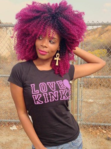Image of LOVE KINKS / Black tee