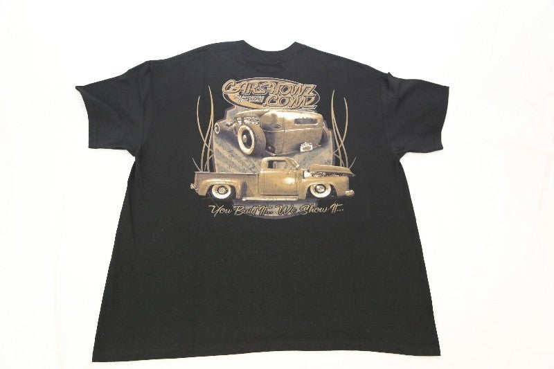Image of RatRod Themed CarShowz Tee