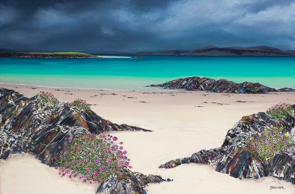 Image of Grey skies, Iona LARGE giclée print