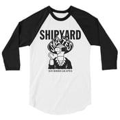 Image of Shipyard Skates HOMAGE ragland 3/4 tee