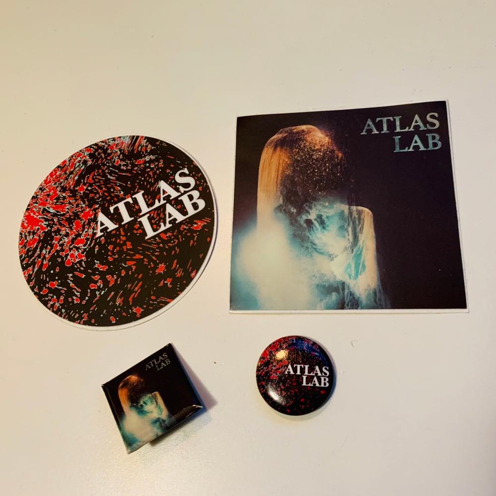 Image of Sticker & Pin set