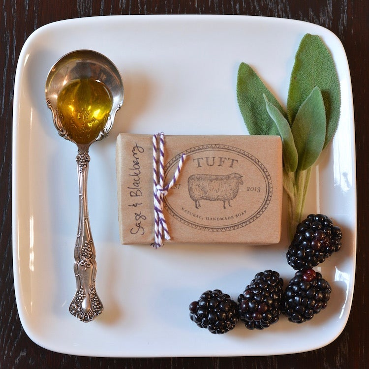 Image of Sage & Blackberry - Luxury Bath Bar and Natural Lanolin Wool Wash