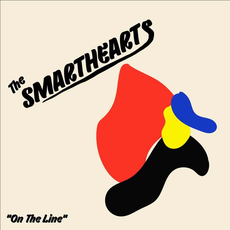 Image of * PRE-ORDER* THE SMARTHEARTS - ON THE LINE LP