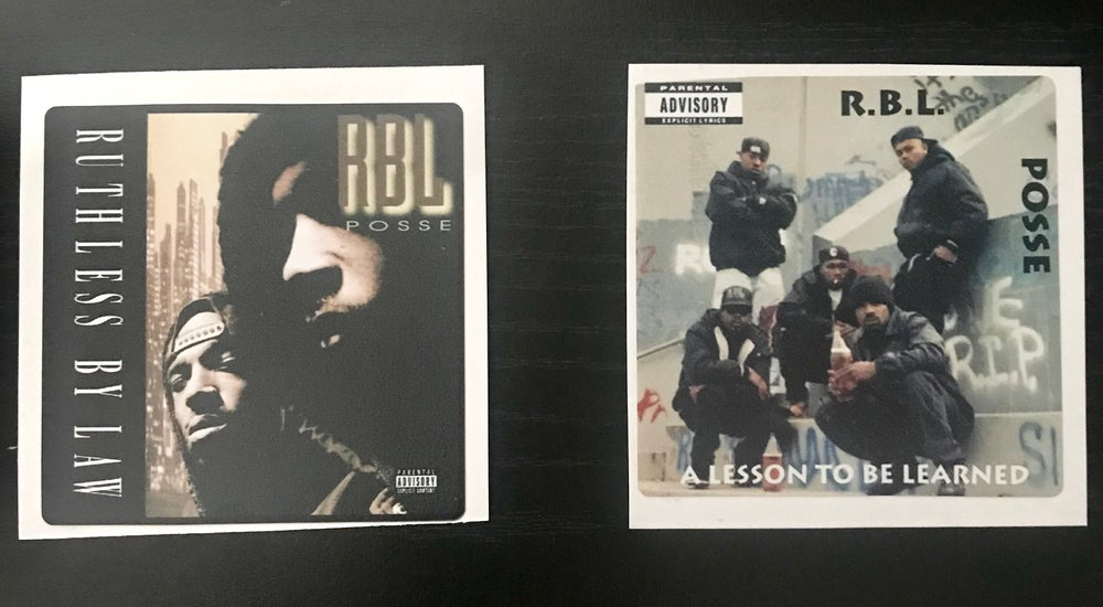 Image of RBL Album Cover Stickers
