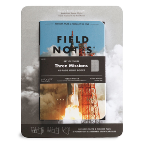 Image of Field Notes - Three Missions