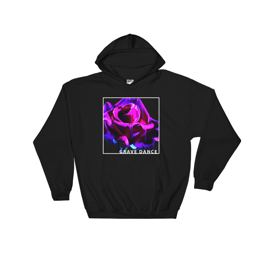 Image of MELTING ROSE HOODIE (PURPLE)