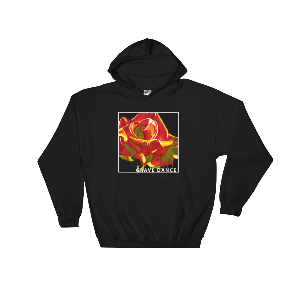 Image of MELTING ROSE HOODIE (YELLOW-ORANGE)