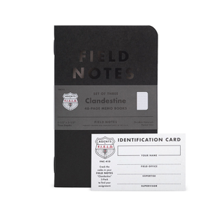 Image of Field Notes - Clandestine