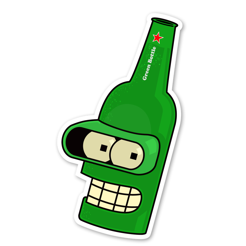 Image of Bender - Green Bottle
