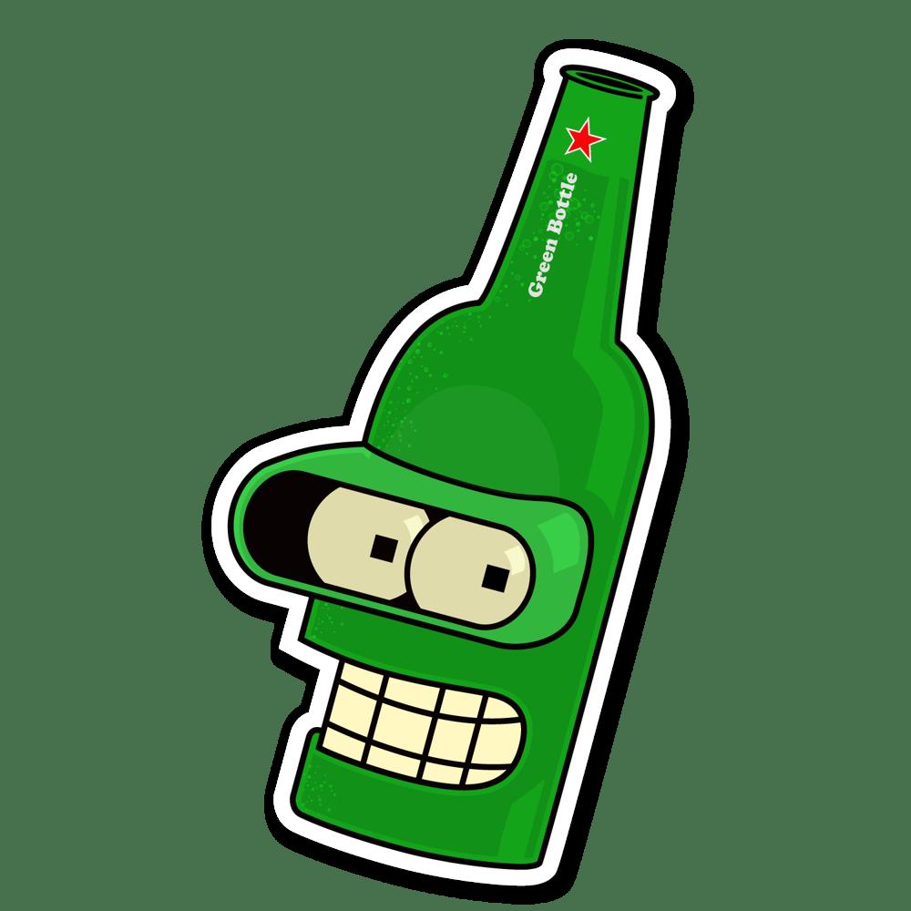 Image of Bender - Green Bottle