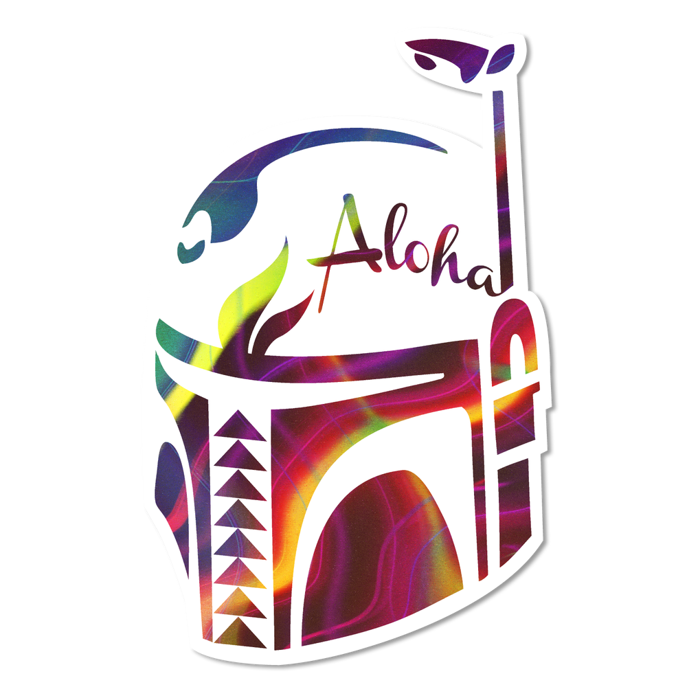 Image of Aloha Fett - Abstract
