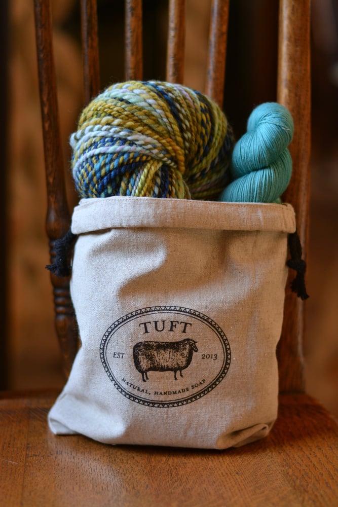 Image of Linen Drawstring Bags