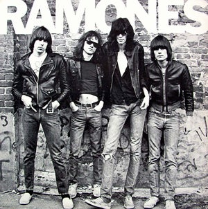 Image of Ramones on vinyl!