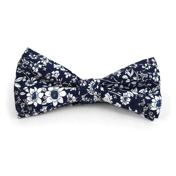 Image of Retro Flower BowTie