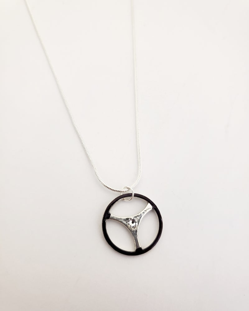 Image of Steering Wheel Necklace