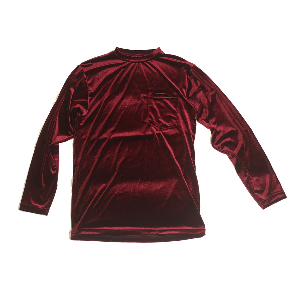 Image of Cardinal Velvet top