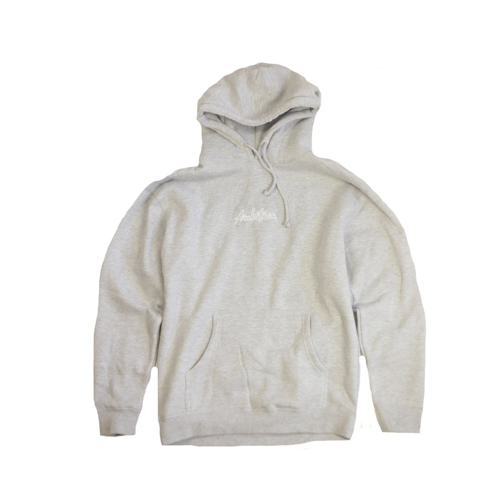 Image of Heather Gray heavy hoodie