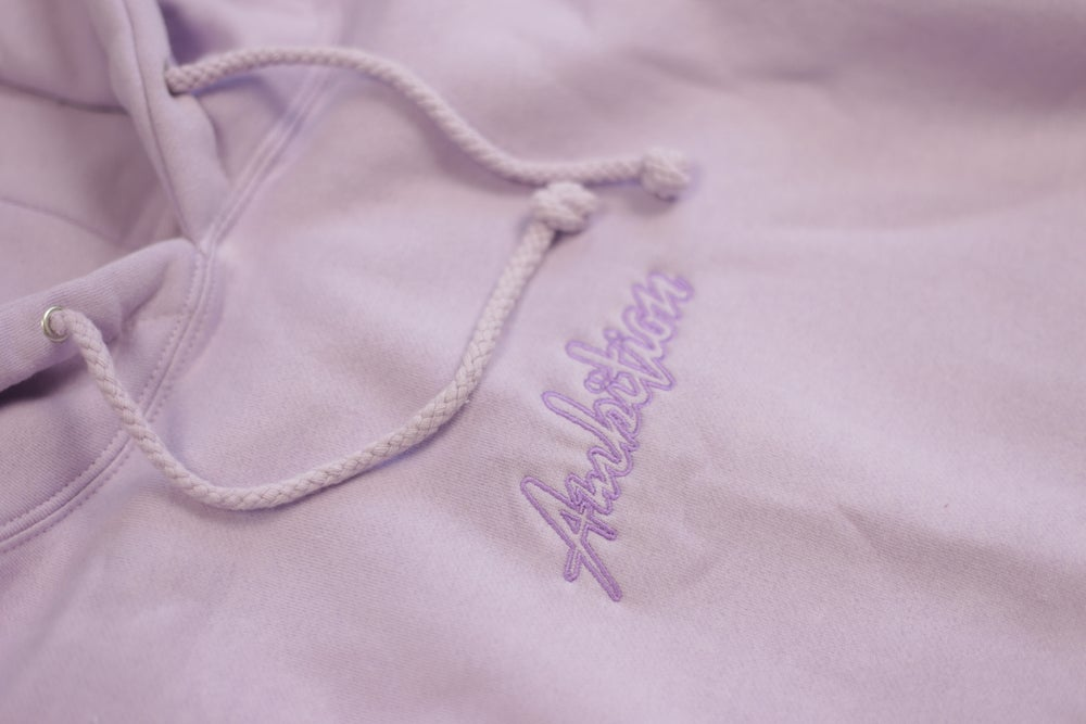 Image of Dyed Lilac hoodie