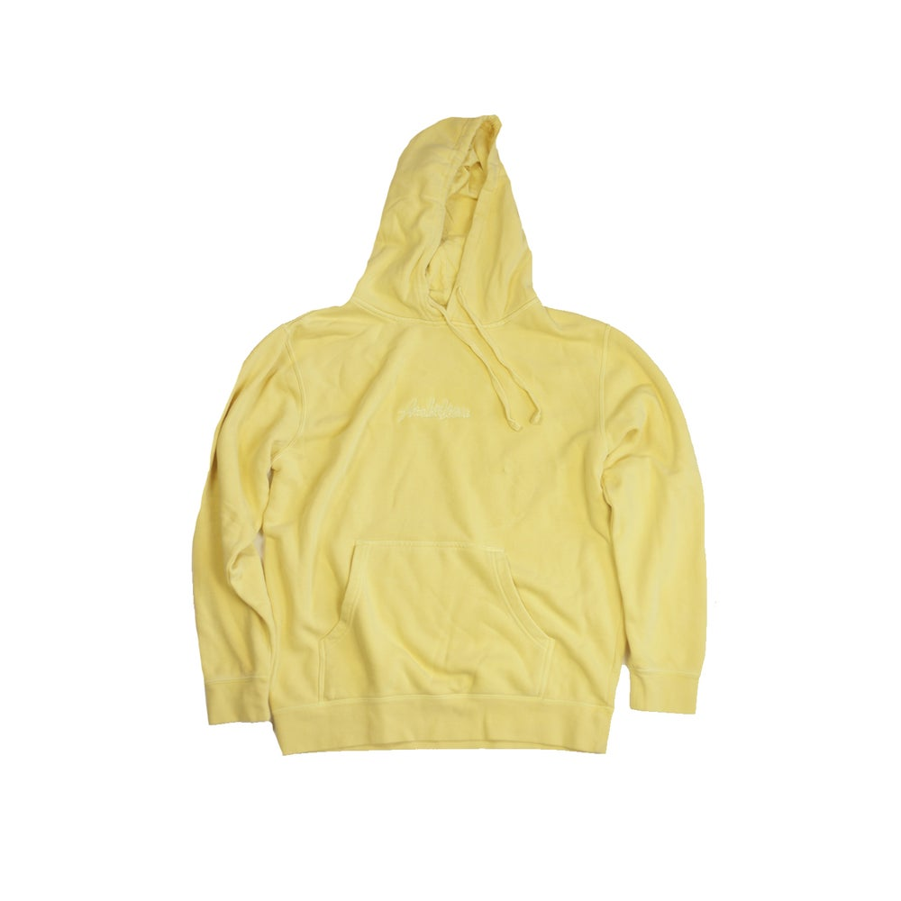 Image of Dyed yellow hoodie