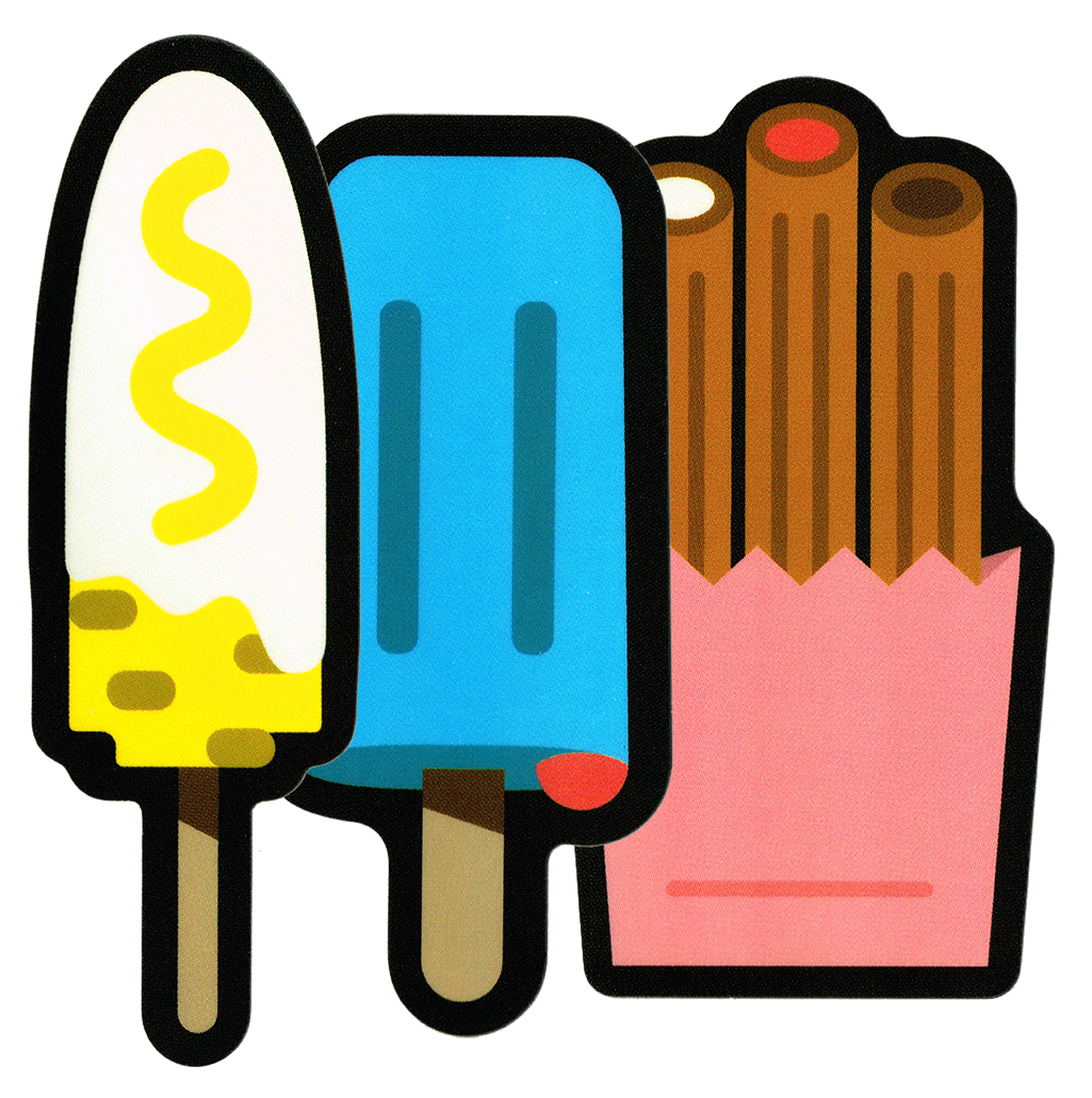 Image of Mexican Street Food Sticker Pack
