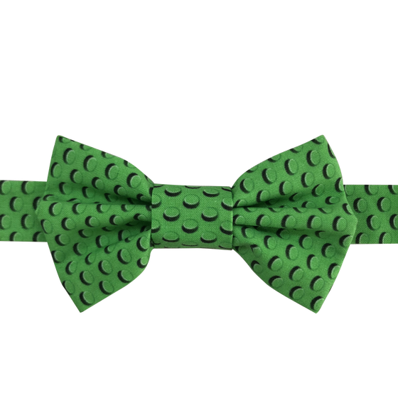 Image of christmas green brick bow tie
