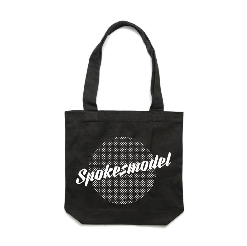 Image of PRE-ORDER Spokesmodel Tote Bag - Black