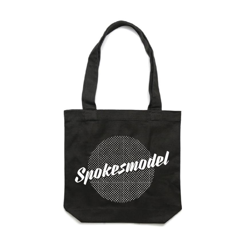 Image of PRE-ORDER Spokesmodel Tote Bag - Black