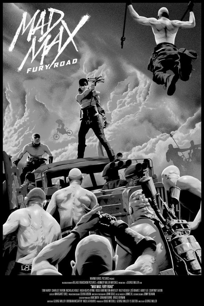Image of Max Mad (Black & Chrome Edition)