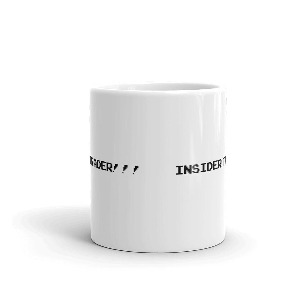 Image of insider trader mug