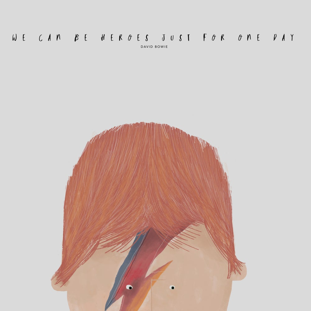 Image of GREAT PEOPLE LIKE BOWIE ILLUSTRATION