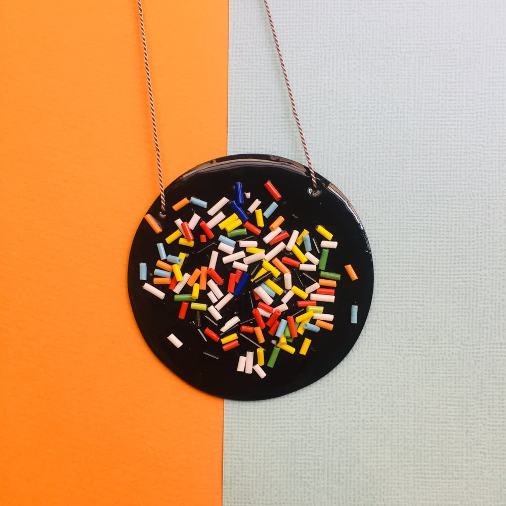 Image of All sorts Necklace In Jet black