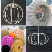 Image of Ball (Bauble) lampshade frame