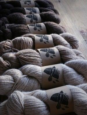 """Image of Ethically produced yarn, Alpaca mix """"Feather"""""""