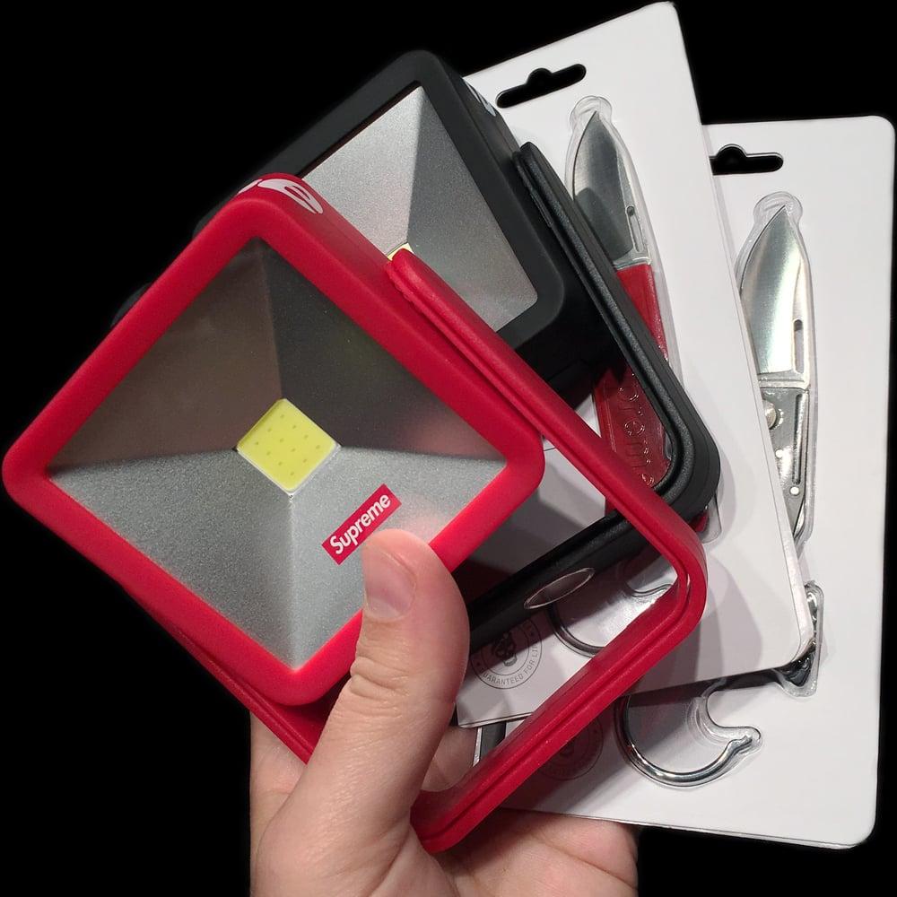 Image of 2018 Kickstand Light & Sog Keytron Folding Knife