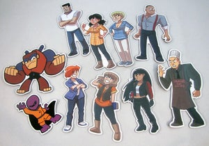 Image of Dumbing of Age character magnet set of 10
