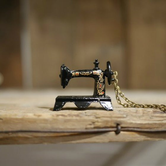 Image of Singer Sewing Machine Pendant