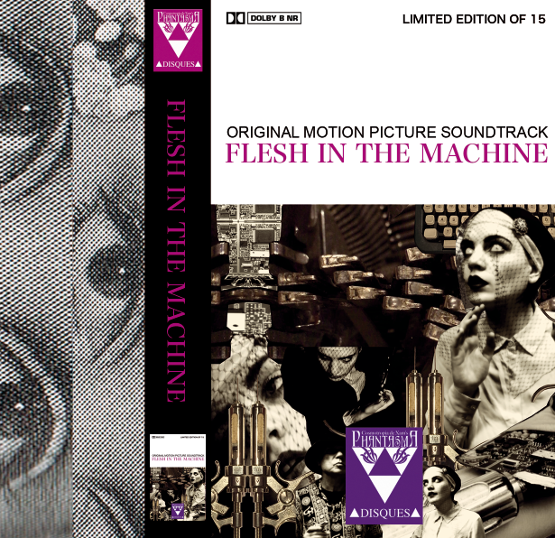 Image of FLESH IN THE MACHINE SOUNDTRACK CASSETTE + DIGITAL (CLASSIC DESIGN)