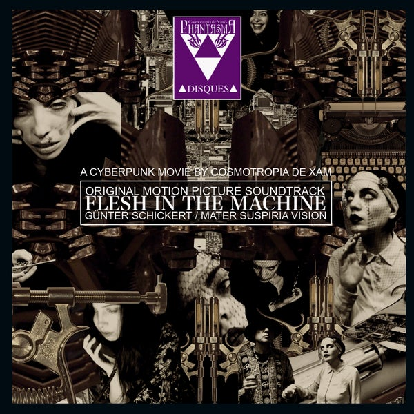 Image of PD-193 FLESH IN THE MACHINE SOUNDTRACK CDR + DIGITAL