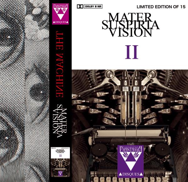 Image of MATER SUSPIRIA VISION - TRAUMA II EP CASSETTE + DIGITAL (CLASSIC DESIGN)